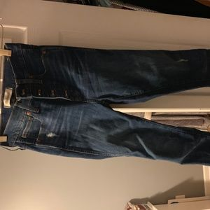 """Madewell 10"""" High Rise Skinny jeans- worn once"""